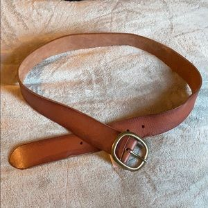 Lucky Brand brown leather belt